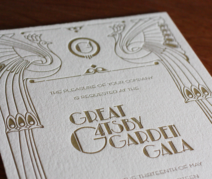 Business Event Letterpress Invitation Designs  Invitations By Ajalon