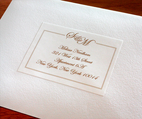 Address Labels To Match Your Wedding Invitations Letterpress Wedding Invita