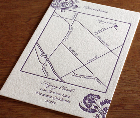 Why Print Wedding Invitation Maps Directions Details And Delight