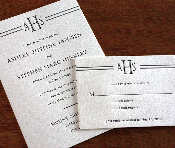 Custom Wedding Invitation Monograms – Wedding Invitation Monograms