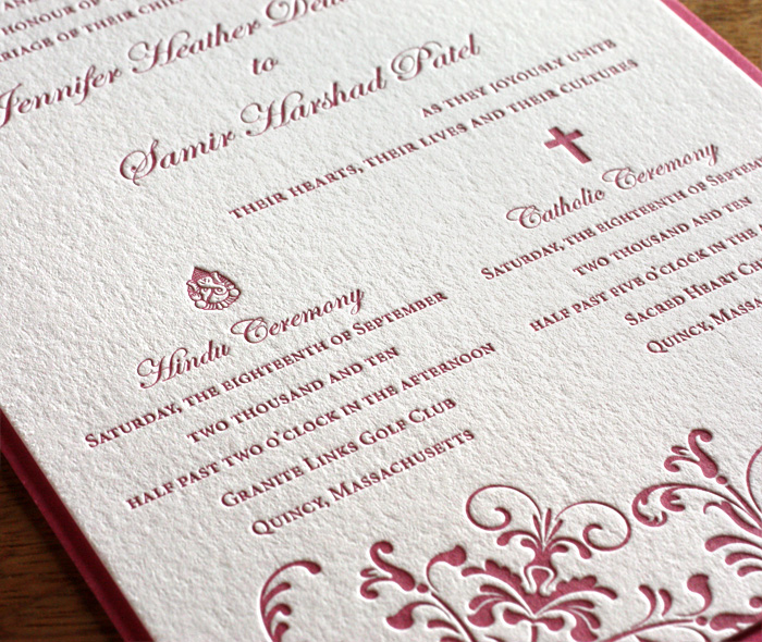 Religious Symbols for Wedding Invitation Designs Invitations by