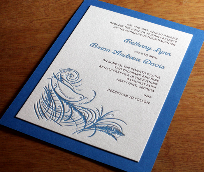 2nd Wedding Invitation Wording: Second Paper Layers For Wedding Invitation Deigns