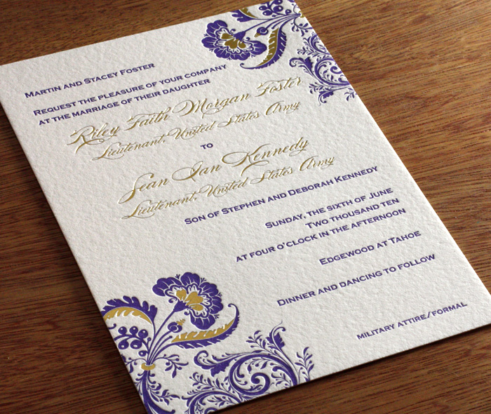 floral bilingual wedding invitation design  allison  invitations, Wedding invitations