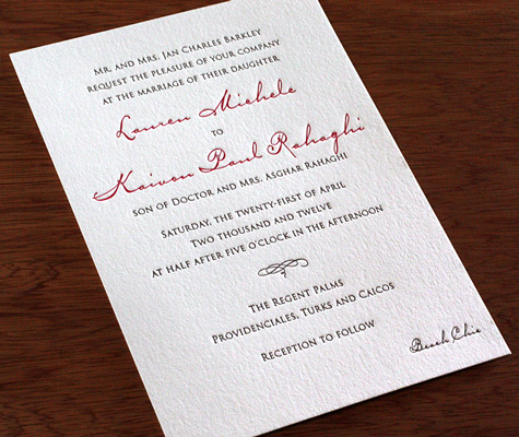 See more about our Anne classic wedding invitations!