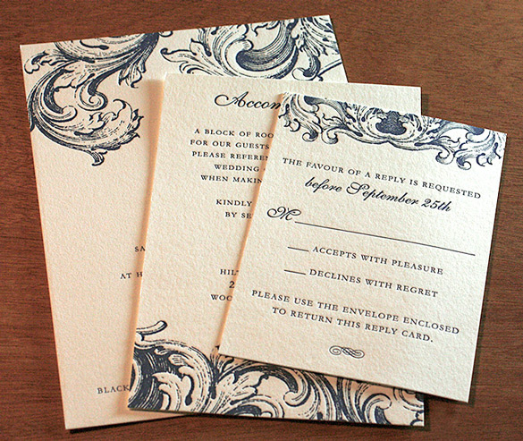 Decline Wedding Invitation Sample: Wording Your RSVP Cards: The Accept Or Decline Edition