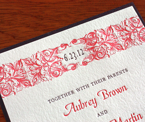 including parents names in invitation wording