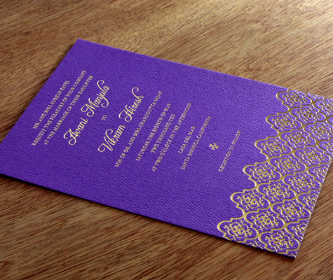 the royal wedding invitation card. With the REAL royal wedding