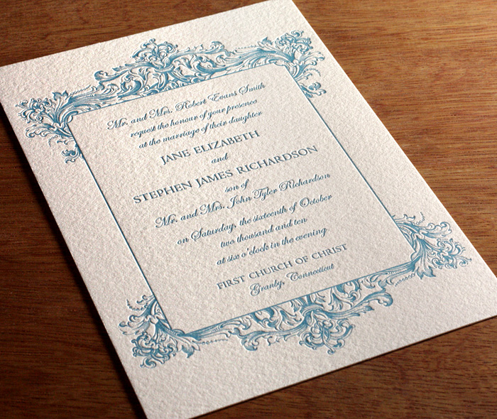 affordable letterpress wedding invitations letterpress wedding