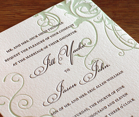 Fresh Invitations for Your Winter Wedding