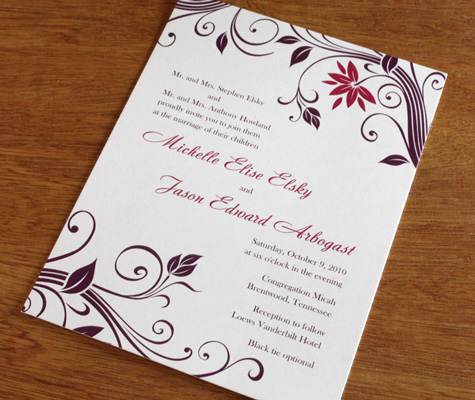 spring wedding invitation ideas new trends for spring 2011 invitations
