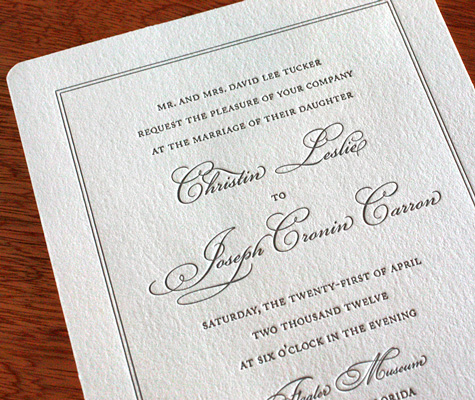 Including Parents' Names in Invitation Wording