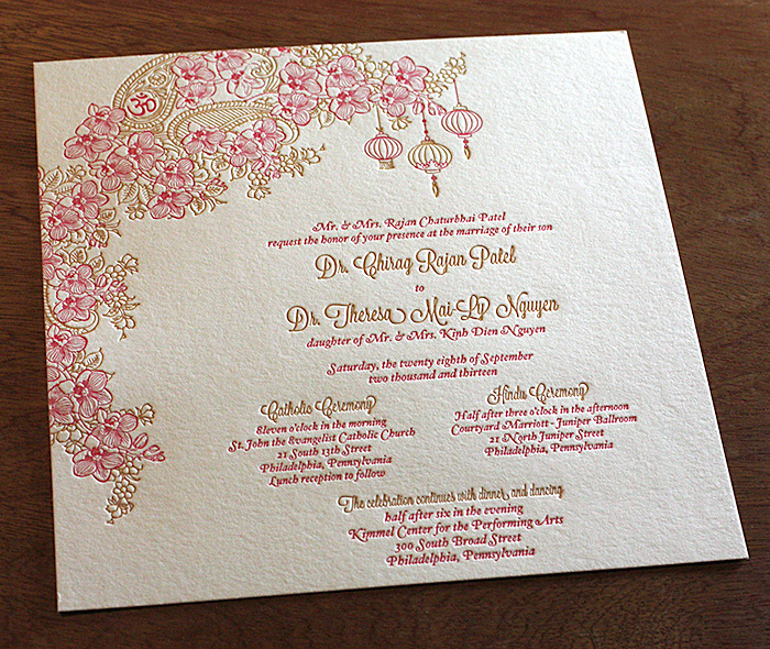 Indian Wedding Invitation Card Design Gallery