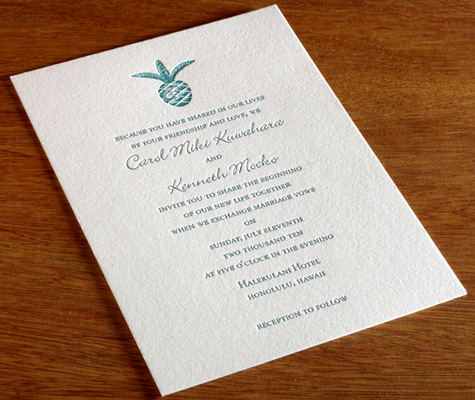 Wedding invitation wording ranges from formal to fun