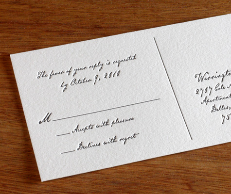 Digital Calligraphy For Your Wedding Invitations Customize