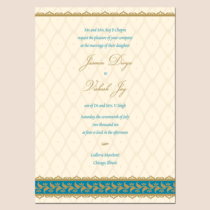 Best Indian Wedding Invitations with good invitation design