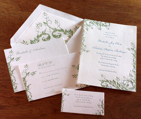 Wedding Invitation Basics: Ordering Photo