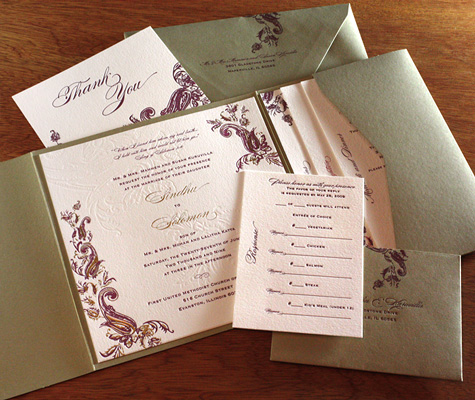 The Best Indian Wedding Invitation Design Wedding Word Indian Themes