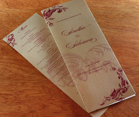 3 Ways to Format Your Wedding Program Formatting Your Wedding Program