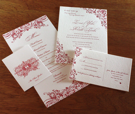 What to Include in Your Wedding Program Send Me My Free Samples of Zena