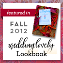 Invitations by Ajalon in Fall 2012 WeddingLovely lookbook