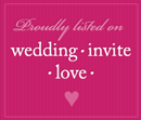 Invitations by Ajalon on Wedding Invite Love