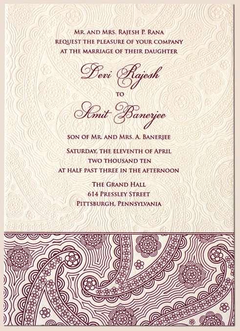 Excellent Indian Wedding Invitation Cards Online 491 x 677 · 258 kB · jpeg