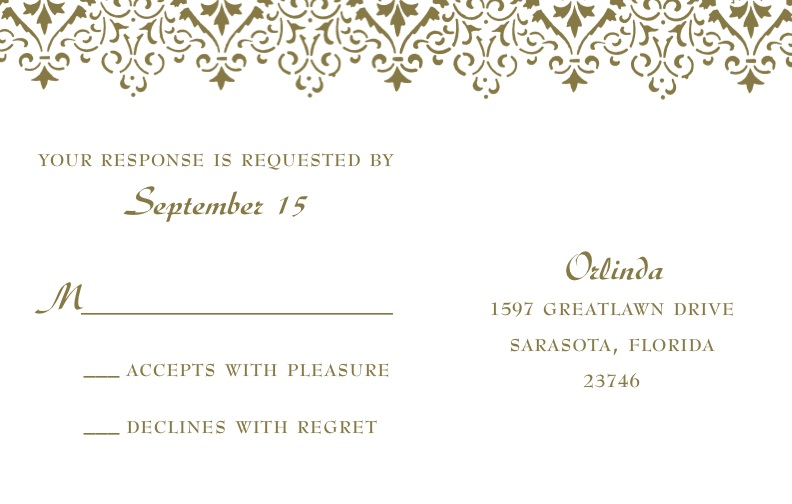 letterpress wedding invitation design rsvp postcard