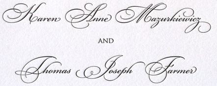 wording your wedding invitation design font - Wedding Invitation Fonts