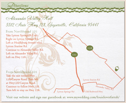 How To Make A Map Card For Wedding InvitationNew