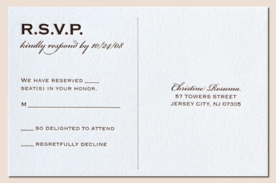 PLEASE HELP, RSVP troubles - Weddingbee