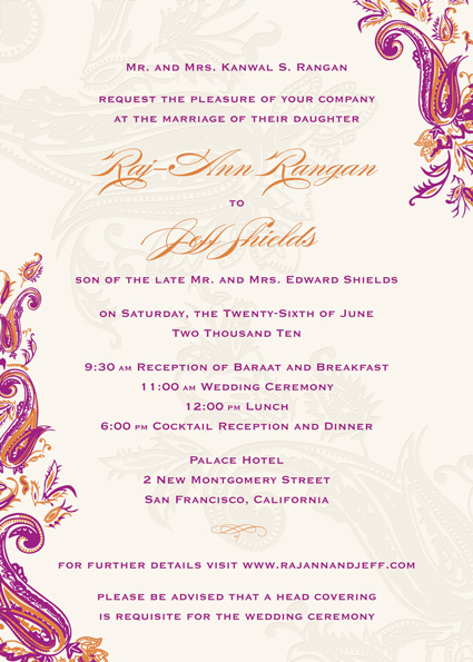 How to word wedding invitations from formal to fun expert advice is click here to request samples stopboris Choice Image