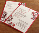 bilingual invitation, bilingual wedding, fusion
