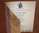 folio, wedding invitation set, enclosure