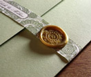 wax seals, invitation set, custom