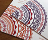 digital printing on hindu wedding invitation cards wedding invitations with floral mandala motif