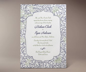 madison letterpress invitation