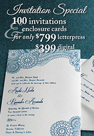 Wedding Invitation Specials