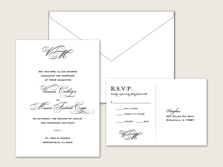Black Tie Wedding Invitation Wording Gallery Coloring Pages Adult