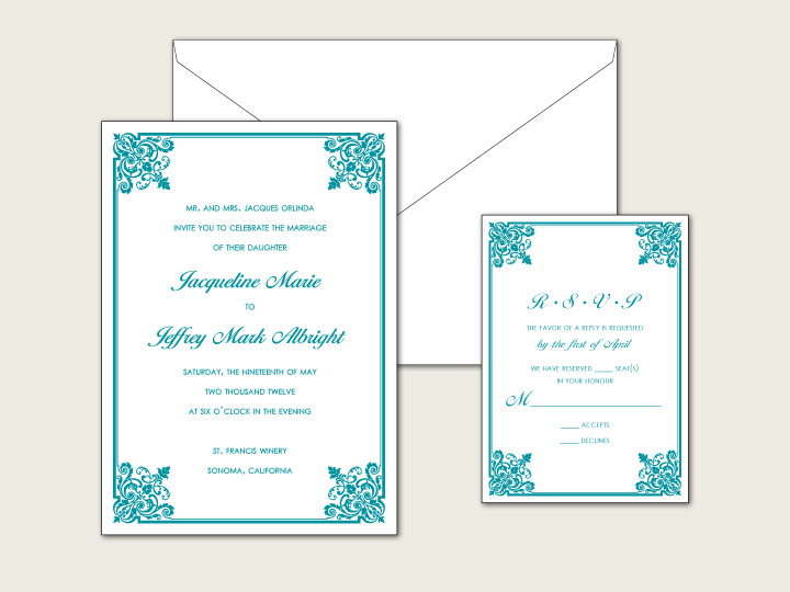 January Wedding Invitation Deals Letterpress and Digital Discounts for