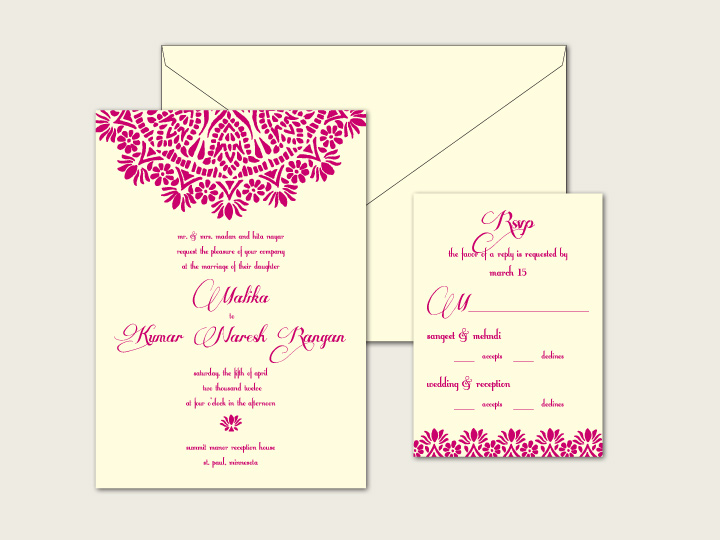 Invitations by Ajalon has an awesome letterpress wedding invitation deal