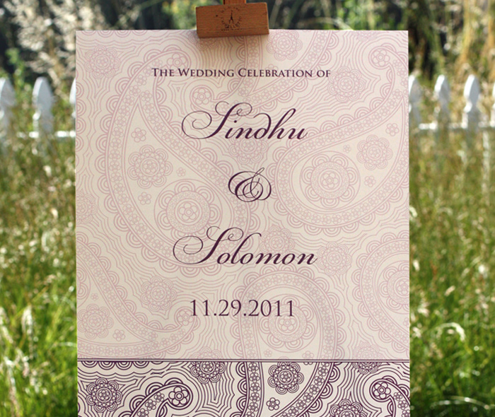 Wedding Reception Signs to Guide the Way | letterpress wedding ...