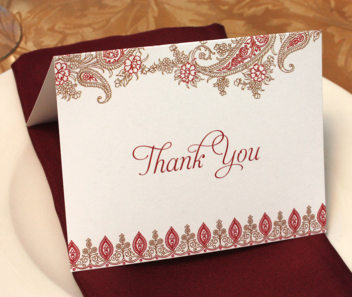 Wedding Thank You Messages Invitations By Ajalon